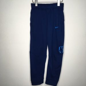 NIKE Dri-Fit Blue Sweat Pants Size Youth M